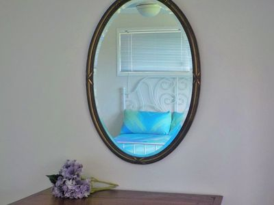 Mirror in master bedroom