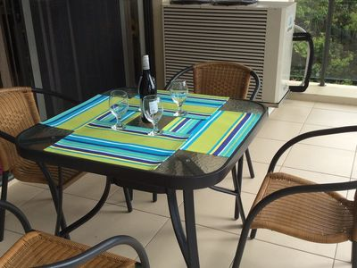 Table Setting on Patio