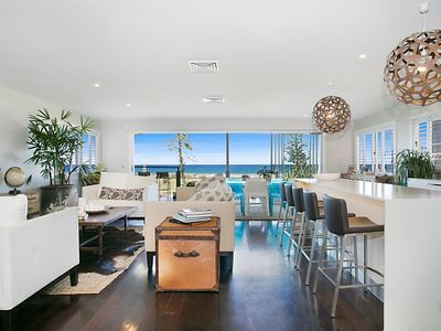 Open Plan Lounge and Dining with Ocean Views