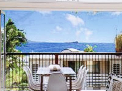 Enjoy the ocean view from the lounge, kitchen, dining and upstairs balcony.