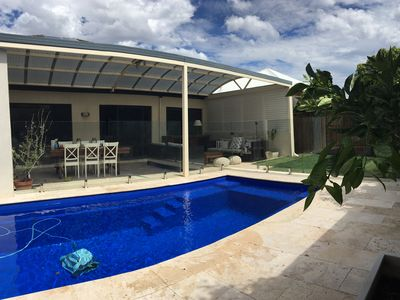 Pool and al fresco area