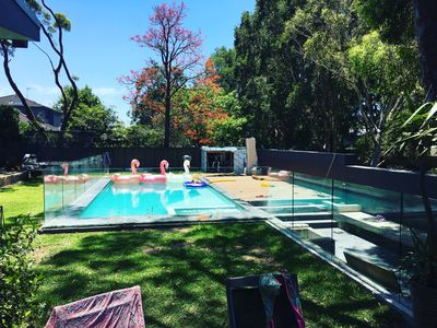 Pool view from Outdoor Dinning