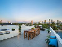 Rooftop entertaining