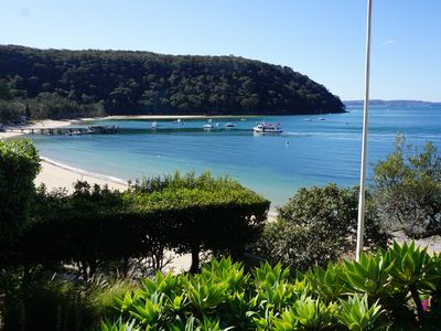View of Mackerel Beach Wharf