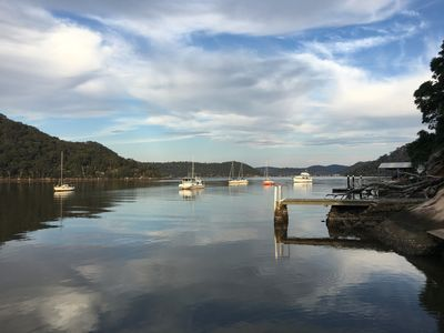 Deep waterfront location on the beautiful Hawkesbury River