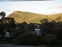 Hills from the deck