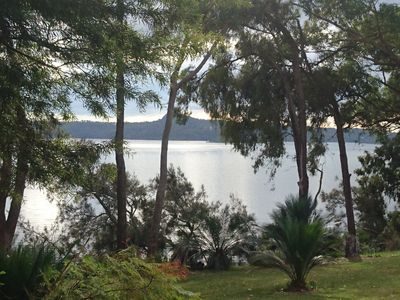 We are situated right on the lake, among local wildlife and flora
