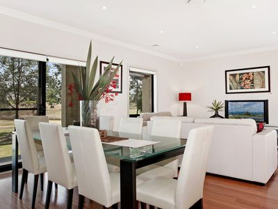 Dining plus rear living area - Chateau Shiraz at The Vintage