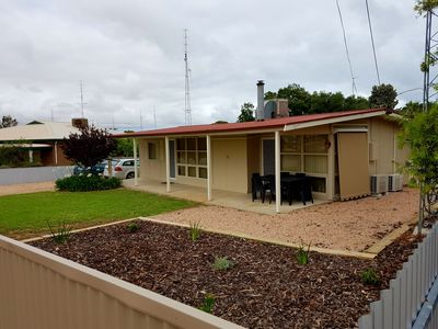 Front yard and verandah area