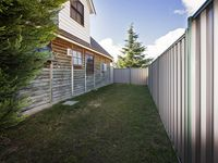 50m2 secured pet friendly yard with 1.8m high colourbond fence