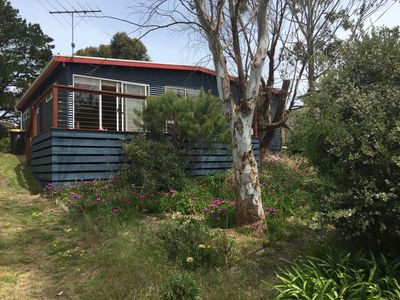 Beach cottage in bush setting, best location in Venus Bay