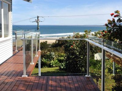 GIRT BY SEA, Gerroa - sitting high in Headland Drive with fabulous views