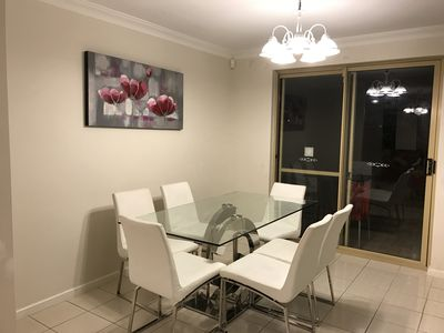 Downstairs dinning area