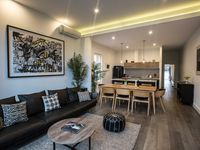 Lounge are with open plan living