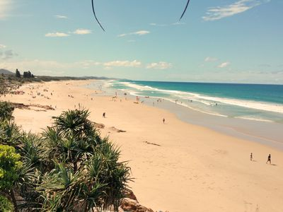Coolum Beach main Beach