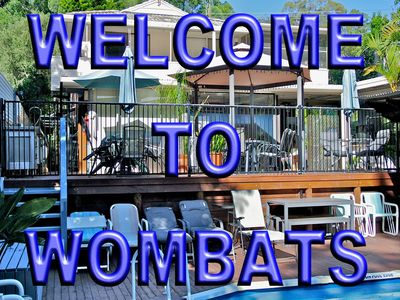 Welcome to Wombats B&B - Apartments, AAA 3.5 rated, Gosford