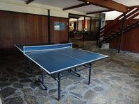 downstairs table tennis room
