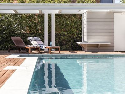 You'll love the shimmering outdoor pool
