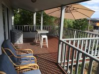 Enjoy sunset and view from the deck