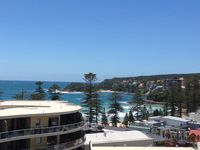 View from Balcony - Manly Beach Apartment with Views