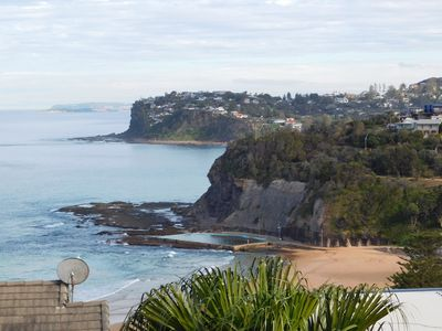 Spectacular view of Bilgola Beach