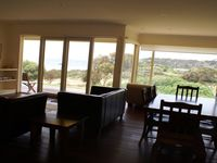 Spacious living areas with great sea views