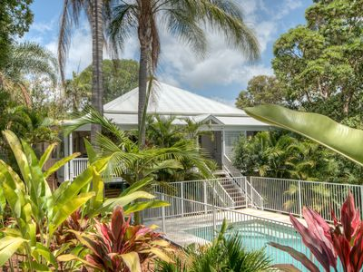 The Queenslander - family paradise set amongst the palms