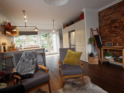 Your comfy and cosy living space to relax in after a days adventure.
