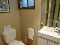 Ensuite Toilet and Basin