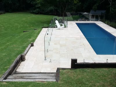 Beautiful landscaped heated 12m lap pool