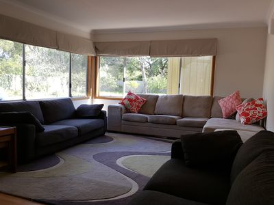 Family Room - plenty of space for 10 adults