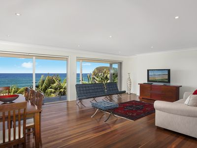 Living spaces with ocean views