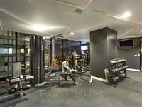 Fully Equipped GYM for those who like to work out. Open daily 6am to 10pm