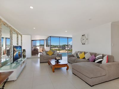 Yacht Harbour Towers Unit 7E -  Three bedroom Penthouse on the hill overlooking