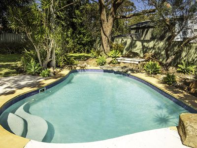 Backyard Saltwater pool