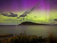 A stone's throw from Tasmania's best location for viewing the Aurora Australis