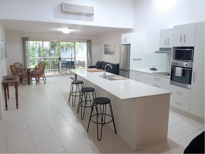 2 BR Oceanic Apartment kitchen dining