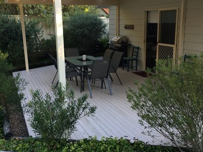 Undercover Patio with BBQ