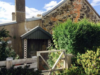 Private entrance to Westcott Cottage