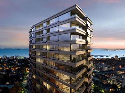 New state of the art apartment building