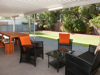 SHELLEBRATIONS - Entertaining Area & Backyard