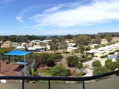 Panoramic view from your balcony