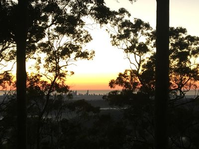 Views of the beautiful Gold Coast at sunrise.
