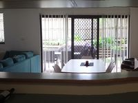 Veiw from kitchen to dining