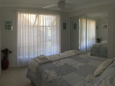 Your bedroom - with queen sized bed