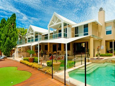 Spectacular North Facing Harbour Front Villa