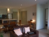 Beautiful kitchen and dining area with all utensils and crockery provided