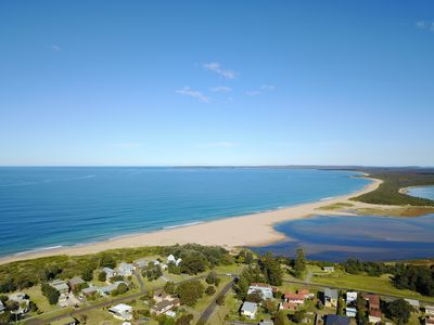 location shot, the property is across form the sea, lake and park