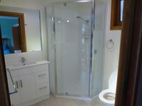 Brand new ensuite - Upstairs