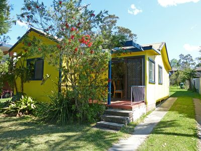 Yellow Cottage Front